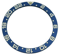NEW BLUE GMT BEZEL INSERT FOR SKX007 SKX009