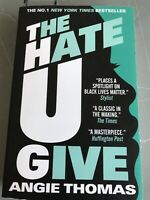 The Hate U Give By Angie Thomas Paperback Book August 2018 NEW