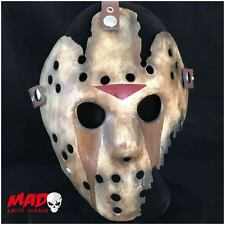 Deluxe jason hockey mask part 9 réplique friday 13th film d'horreur de collection