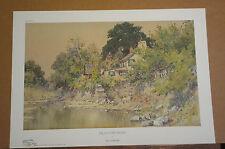 Dr. Suter's Home Artist Paul Sawyier Frankfort Ky Peaks Mill Rock Wall River