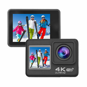 4K60FPS Ultra High Definition  Action Camera Dual Screen 170° Wide N6Y5