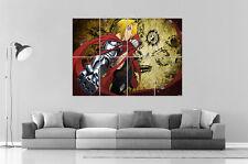 Fullmetal Alchemist Edward Elric 02 Anime Manga Wall Art Poster Grand format A0