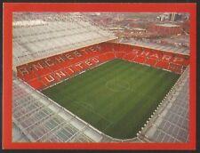 Futera Europe 2000 MAN UTD #016 Old Trafford stadium sticker