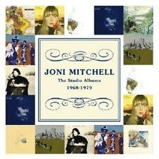 JONI MITCHELL - THE STUDIO ALBUMS1968-1979  10 CD  POP INTERNATIONAL  NEU