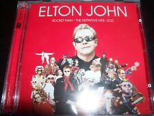 ELTON JOHN Rocket Man The Definitive Hits Very Best Of Greatest 2 CD - New
