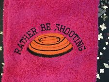 shooting towel ,trap ,skeet ,sporting clays,