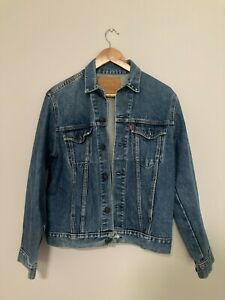 Levis Denim Jacket - 510 02 07 - Made in Australia - Size S Small