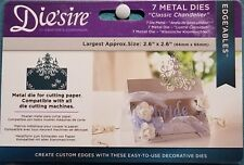 Die'sire Classic Chandelier by Crafter's Companion Metal Die Set Edge'ables Card