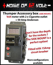 Thumper Accessory VOLT SIDE Mount 2x Cigarette + 50A Anderson battery 12V Gauge
