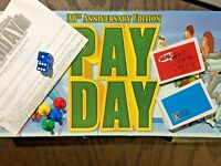 30th Anniversary Edition PAY DAY Board Game Replacement Parts- Your Choice!