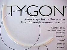 "Durite TYGON 2375 6.35mm 1/4"" ID 30cm 12"" Réservoir Tuyau Frein Vélo Moto"