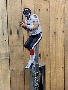 HOUSTON TEXANS Tap Handle Beer Keg NFL FOOTBALL White Jersey Carr