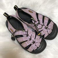 Keen Water Sport Hiking Green Sandals Girls Size 4 Lavender