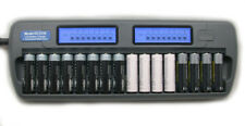 16 Bank 16 Slot DC1216 Fast LCD Battery Charger AA AAA NiMH NiCd with Refresh