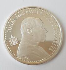 Médaille en argent Vatican Jean-Paul 1978-2005.(AV076)