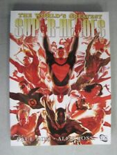 The World's Greatest Super-Heroes Grapic Novel 1st Print Paul Dini & Alex Ross