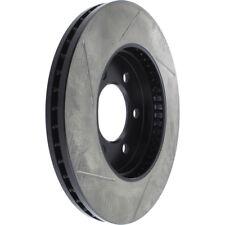 Disc Brake Rotor-Sport Slotted Brake Disc Front Left Stoptech 126.65097SL