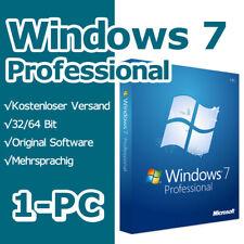 Windows 7 Professional SP1 Instant Multilanguage Original License Key 32bit/64B