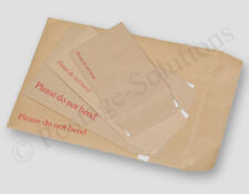 Hard Board Backed Manilla Envelope Do Not Bend A3 A4 A5 A6 DL A5+ Brown CHEAPEST