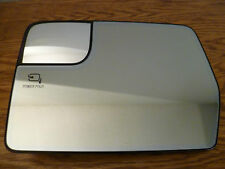 Ford F-150 pickup 2011-14, driver Mirror glass w/mount plate auto dimming dim
