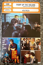 US Comedy Drama Pump Up The Volume Christian Slater French Film Trade Card