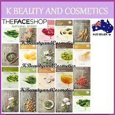 4 pieces x [The Face Shop] Real Nature Mask Sheet SET *20 types*