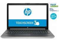 "HP Laptop Touchscreen 17.3"" WIN10 12GB 1TB DVD+RW WiFi Bluetooth (FULLY LOADED)"
