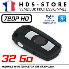 BMCLE CLÉ DE VOITURE CAMÉRA ESPION HD 720P + MICRO SD 32 GO INFRAROUGE DÉTECTION