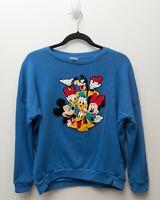 Women's Disney Sweater Pullover Long Sleeve Embroidered Disney & friends MEDIUM