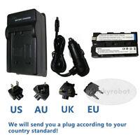 Battery + Charger for Sony MVC-FD100 MVC-FD200 MVC-CD1000 Mavica Digital Camera