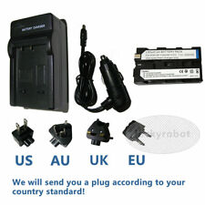 Battery + Charger for Sony MVC-FD100 MVC-FD200 MVC-CD1000 Mavica Digital Camera