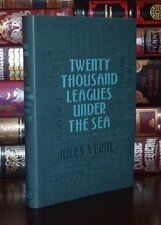Twenty Thousand Leagues Under the Sea by Jules Verne Deluxe Soft Leather Feel