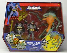 BATMAN Brave and The Bold TV Series Batman vs ALIEN Mattel NIP action figure set