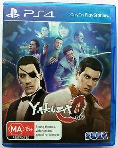Yakuza Zero | Sony Playstation 4 PS4 | O 0