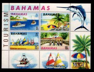 BAHAMAS Tourism MNH souvenir sheet