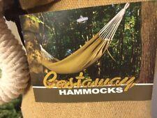Castaway Travel Hammocks Hammock Tan Color In Bag Nwt $70 With Tree Hooks