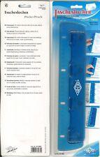 WEDO Taschenlocher 4fach-Locher mit 30cm Lineal/Skala -absolut NEU-Schnäppchen!