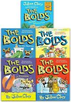 Julian Clary Collection 5 Books Set The Bolds in Trouble, Rescue, Holiday
