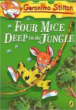 Geronimo Stilton: Four Mice Deep in the Jungle (#5), New, Stilton, Geronimo Book