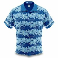 Auckland Blues Super Rugby 2020 Hawaiian Shirt Button Up Polo Shirt Sizes S-5XL!