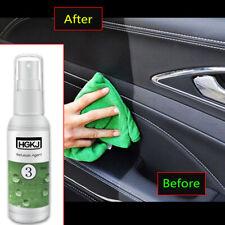 HGKJ-3 Car Refurbished Agent Trim Leather Plastic Care Maintenance Cleaner 50ml