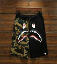 Men's Shorts Japan Camo Bape Shark Pants Jaw Stretchy Casual Ape Short Trousers