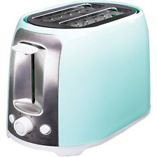 Brentwood Appliances Cool-Touch 2-Slice Toaster w/Extra-Wide Slots, Blue