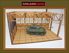 1 35 Laser-cut WW II US Tank Workshop - !!! NEW !!!