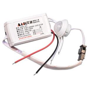 Capteur de Mouvement AC 220V IR LED Strip PIR Body Infrared Motion Sensor Switch