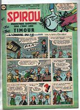 SPIROU n°1168 - 1 SEPTEMBRE 1960  - complet du mini-récit