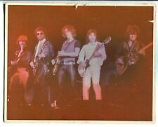 1970's Blue Oyster Cult Vintage Photo Picture Hard Board Mounted Band Item