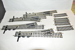 HO scale track Atlas Nickel Silver code 100 SNAP switch turnout lot set of 4