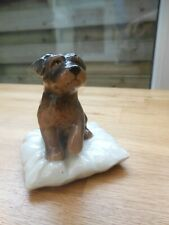 Royal Copenhagen - Mini Series -  Puppy Dog sitting on a cushion - No. 749
