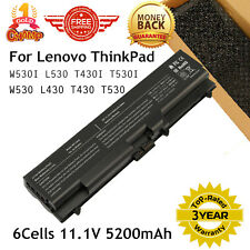 Laptop Battery for Lenovo Thinkpad T530 T430 T430I W530 45N1001 42T4791 57Y4185